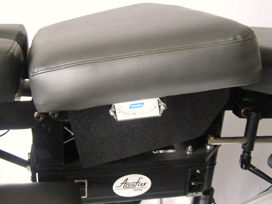 One Of The More Usable Features On THE SPINEWERX DECOMPRESSION TABLE Is The  Isolation Lumbar Cushion.